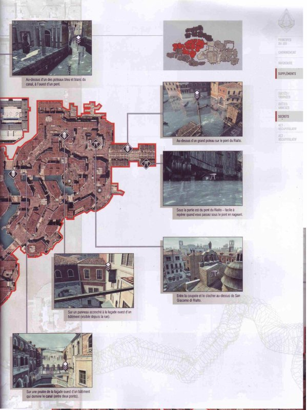 Assassin's creed II : Plumes et Glyphes - Venise Quartier San Polo
