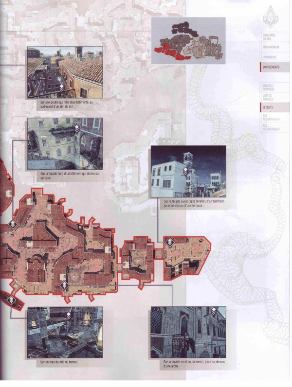 Assassin's creed II : Plumes et Glyphes - Venise Quartier du Dorsoduro