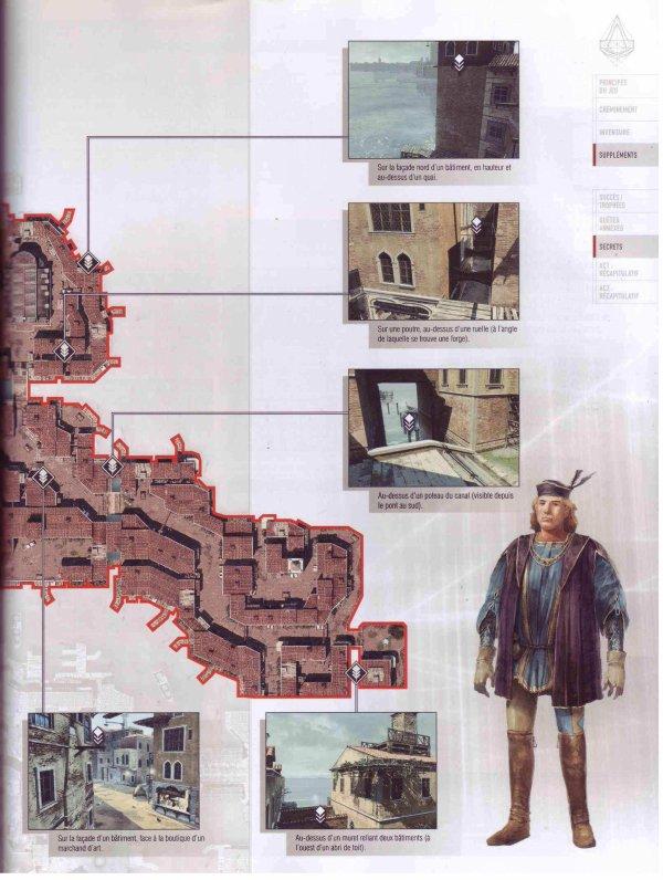 Assassin's creed II : Plumes et Glyphes - Venise Quartier Cannaregio