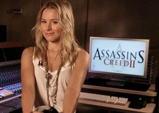 Assassin's Creed : Lucy Stillman alias Kristen Bell