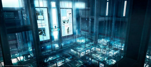 Assassin's Creed : Artwork Abstergo Industries