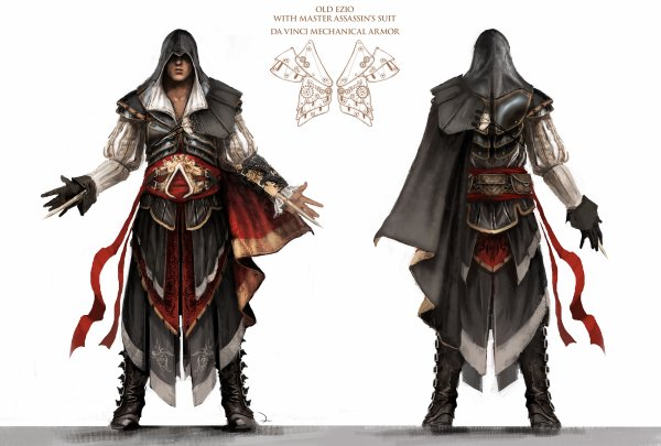 Assassin's Creed II : Artwork Amure Ezio