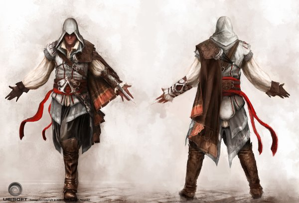 Assassin's Creed II : Artwork Ezio
