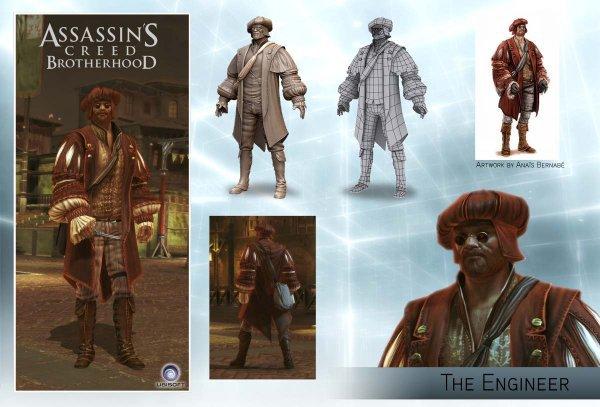 Assassin's Creed Brotherhood Multi : L'Ingénieur
