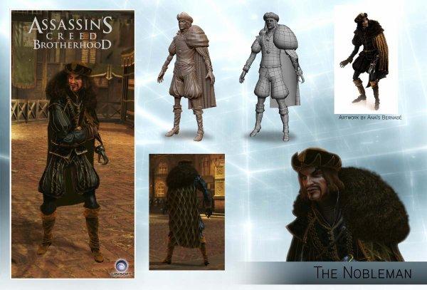 Assassin's Creed Brotherhood Multi : Le Noble
