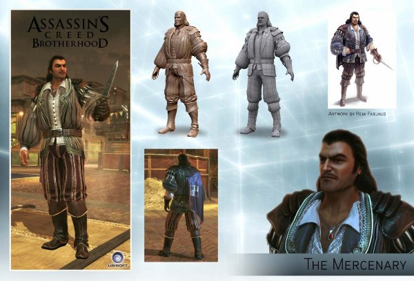 Assassin's Creed Brotherhood Multi : Le Mercenaire