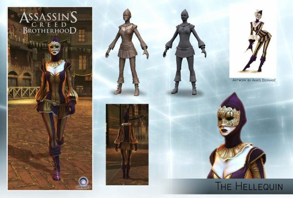 Assassin's Creed Brotherhood Multi : L'Arlequine