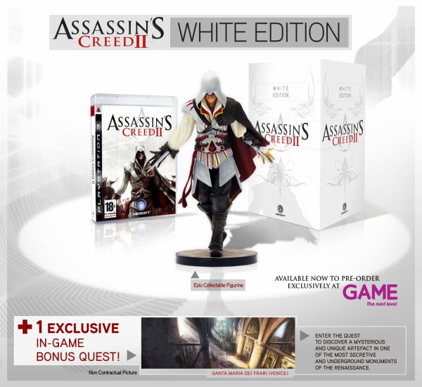 Assassin's Creed II White Edition
