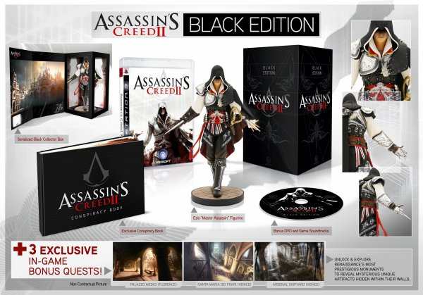 Assassin's Creed II Black Edition