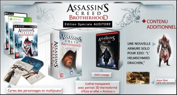 Assassin's Creed Brotherhood Auditore Edition