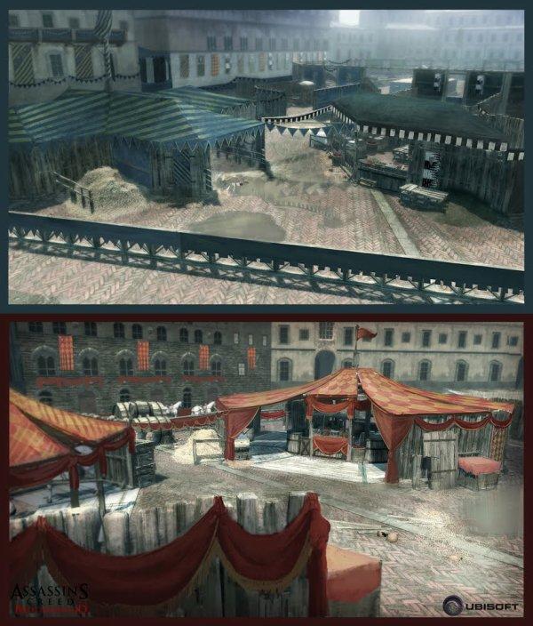 Assassin's Creed Brotherhood : Artwork Sienne