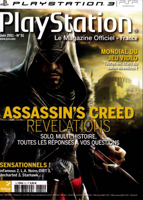 Assassin's Creed Revelations ; Playstation Magazine Officiel