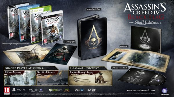 Assassin's Creed IV black Flag Skull Edition