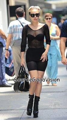30/06/2012: Gaga à New York
