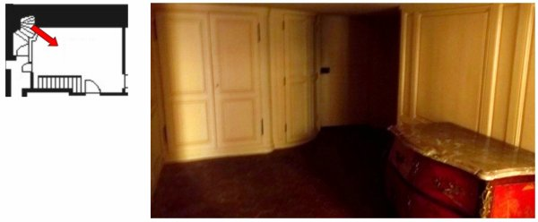 Aile-centrale-Attique- Appartement de Madame Pompadour - C2 Garde-robe aux habits