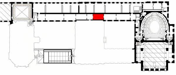 Attique - Aile nord - Salle A15