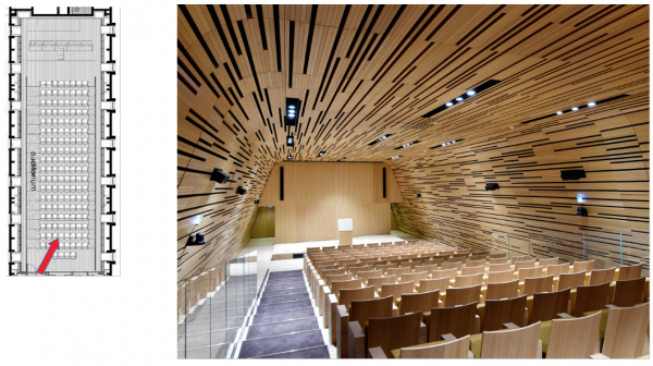 Attique Midi - Pavillon Dufour - B2 Auditorium