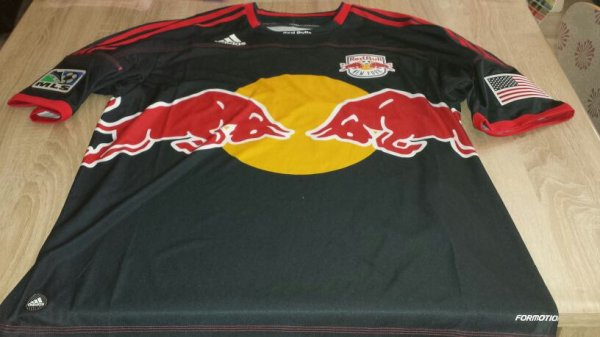 Maillot d'exception porter par Thierry Henry New York Réd bull !!!