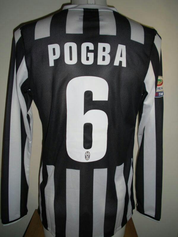 Magnifique maillot porté par POGBA allias la PIOCHE saison 13-14