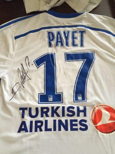 Maillot d'exception porté par D.PAYET contre Toulouse FC.