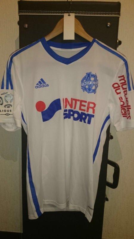 Maillot porté par Brice Dja Djedje contre le FC Nantes