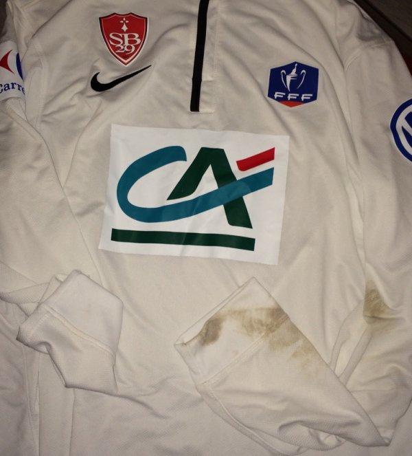 Maillot porté par Martial lors du match de coupe de France face à Cholet (cfa2)