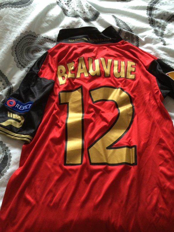 Maillot porté Claudio BEAUVUE contre Kiev Europa League