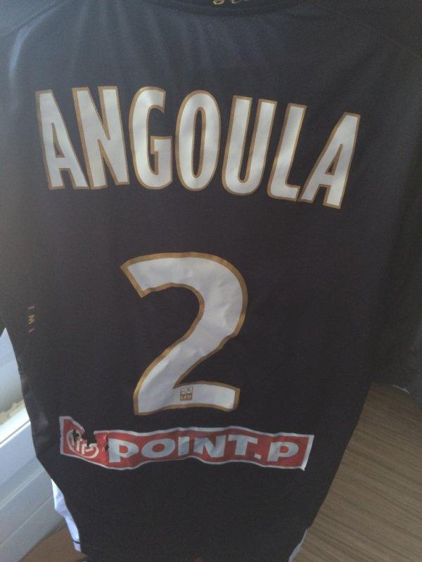 Maillot donné par Mr Angoula après le premier tour de Coupe de la Ligue