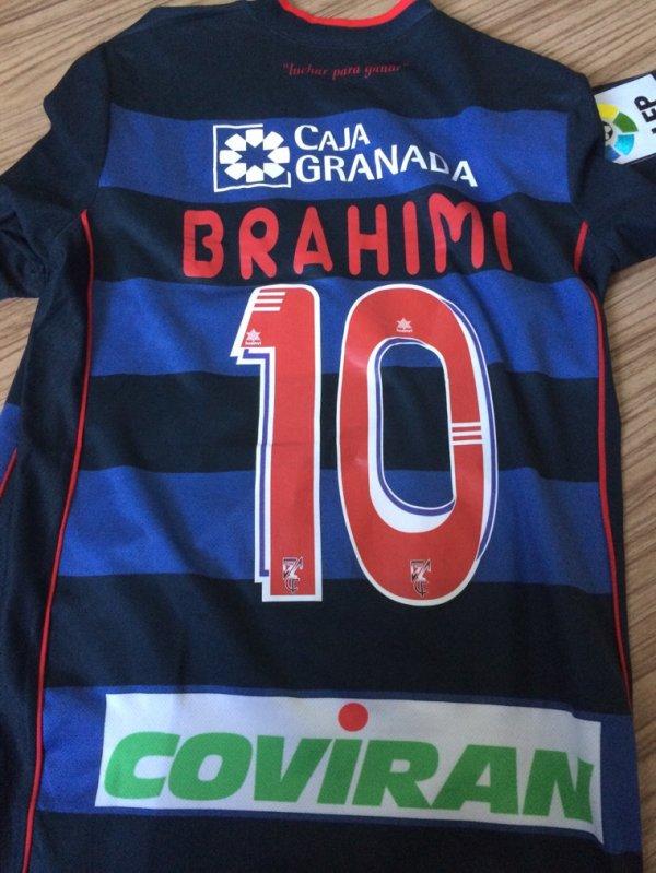 Maillot porté par BRAHIMI lors de son passage au FC Grenade