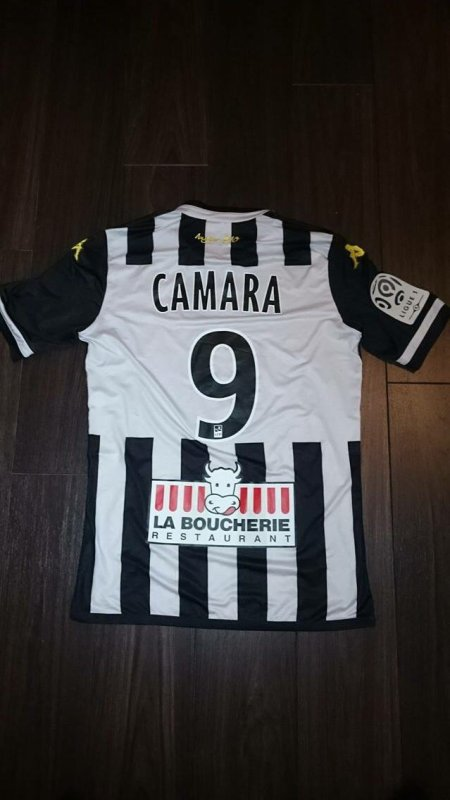 Maillot porté par Abdoul Razzagui Camara lors du Derby contre Nantes