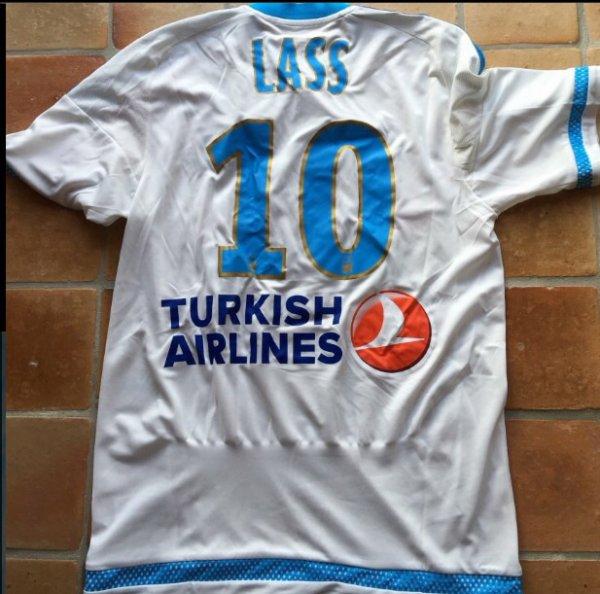 Maillot porté contre PSG par LASS Diarra