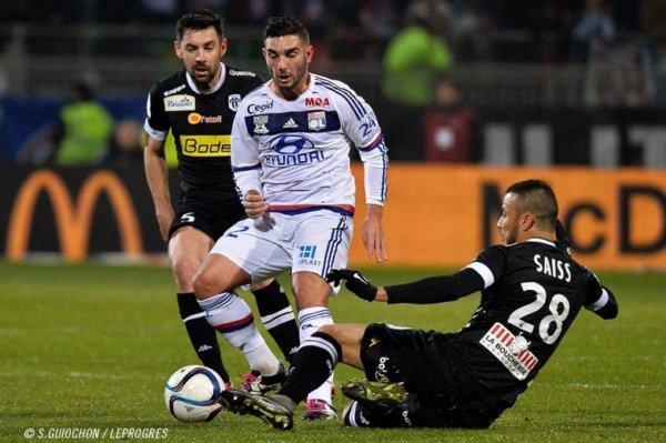 Maillot porté par Yohan ANDREU lors du dernier match à Gerland (victoire 0-2 pour le SCO)