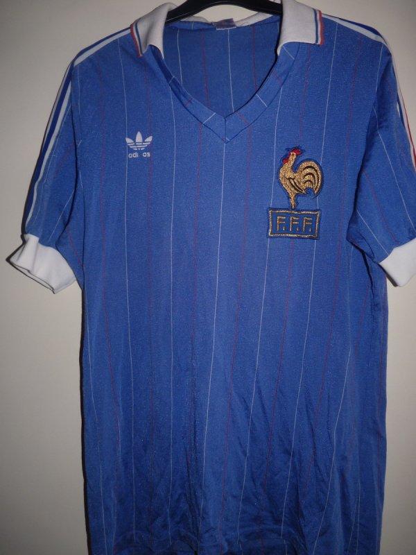 Ancien maillot porte equipe de france bruno bellone coupe du monde 1982 ancien maillot - Maillot equipe de france coupe du monde 2014 ...