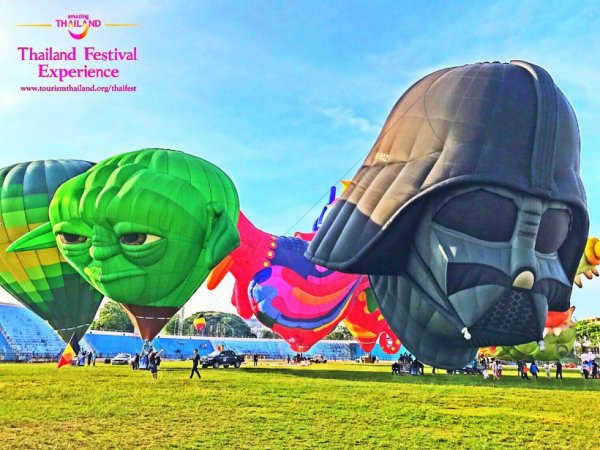 FESTIVAL  des BALLONS     THAILAND