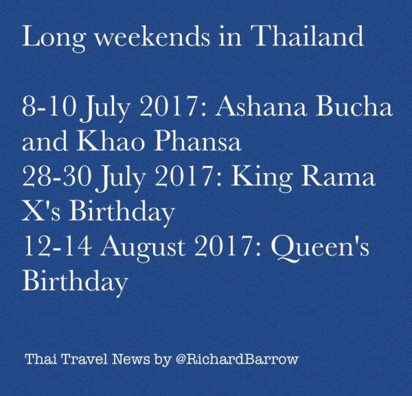 WEEK END   THAILAND