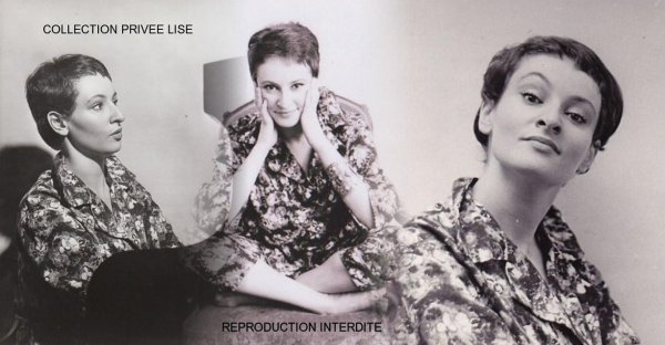 Barbara toute jeunette 1958/1959