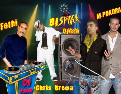 Dj Spider Dj Fms Chris Brown M-Pokora