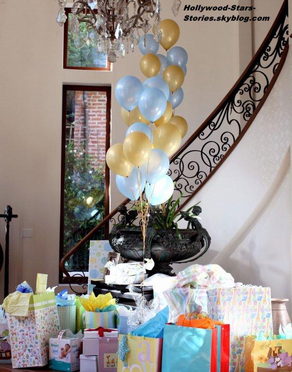 Zac Efron, Francia Raisa et Wilmer Valderrama à la Baby Shower de Tiffany Thornton, qui a eu lieu à Berverly Hills, en Californie. Le 30 juin