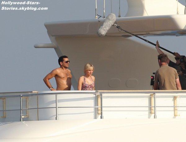 """Naomi Watts dans la peau de la princesse Diana sur le tournage de son prochain film """"Diana"""".  Vendredi, 06 juillet"""
