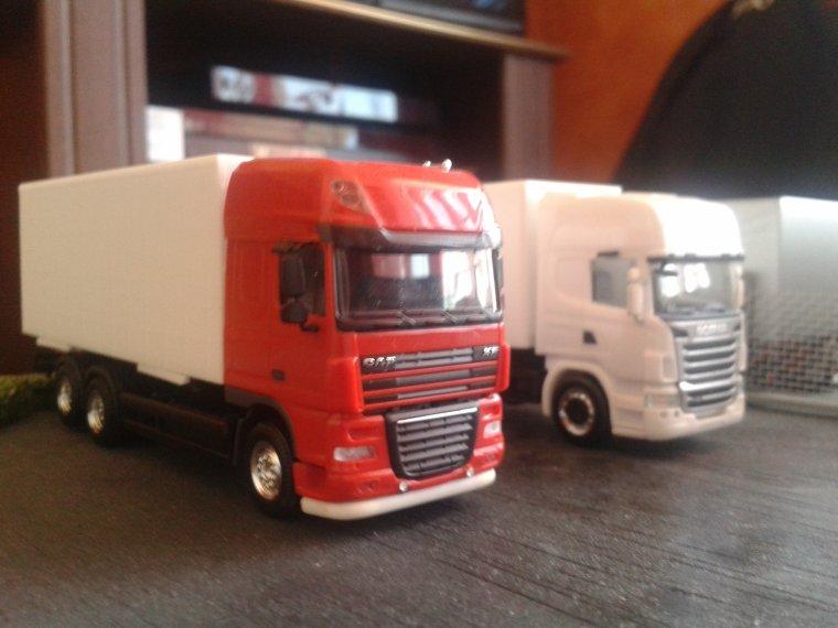 les 4 nouveau camion