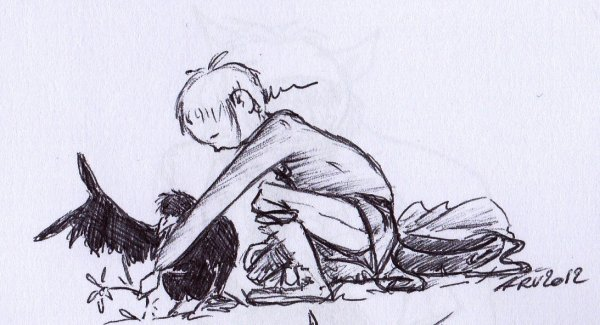Gwen, Wotan et Fenrir