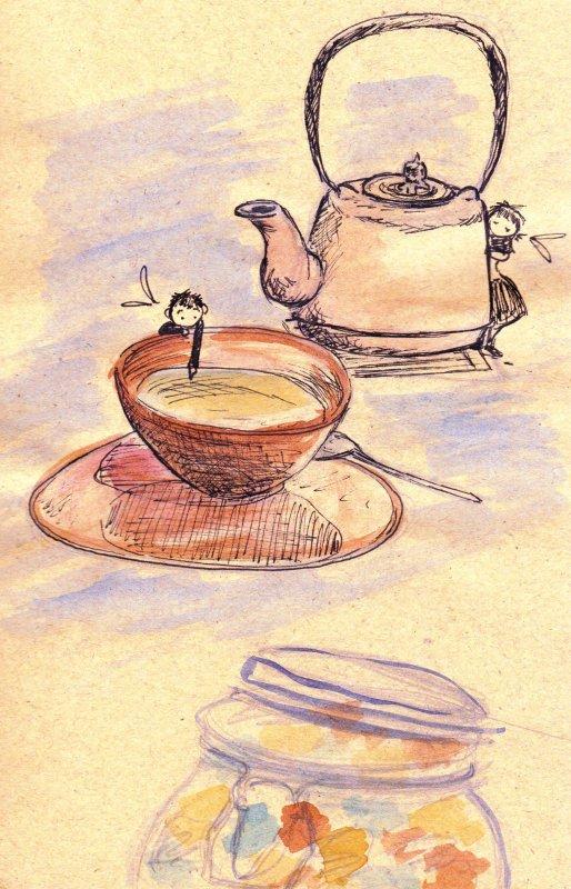 Petit Thé avec un Elfe
