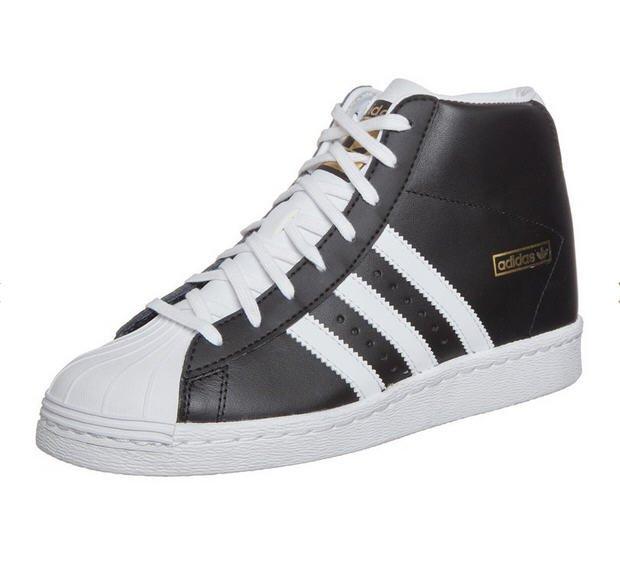 2488709185fbf Adidas Originals SUPERSTAR UP Baskets montantes black/white/gold prix  Zalando 100.00 €