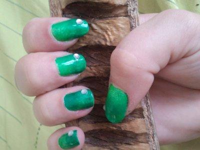 dégradé de vert