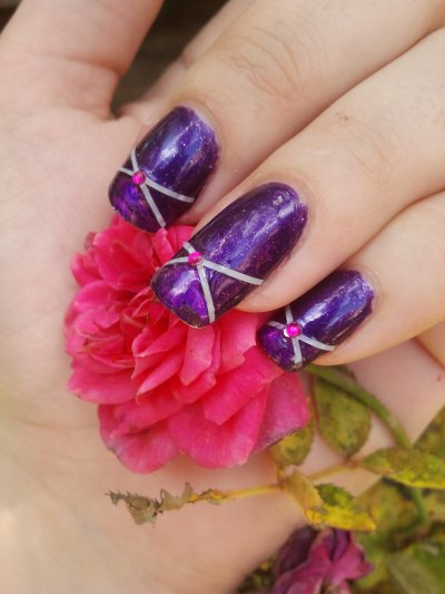 nail art sur lm cosmetic