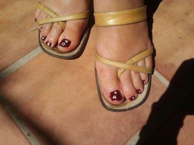 pieds et mains de belle maman
