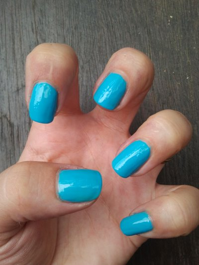 vernis bleu color nails cosmod