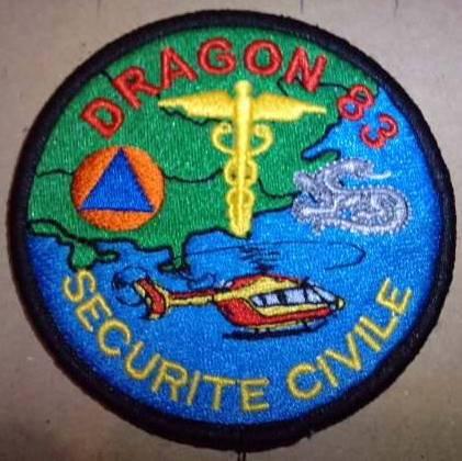 Dragon 83 ( je recherche cet écusson )