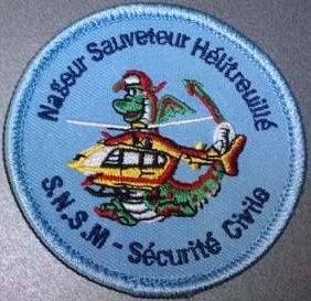 écussons des plongeurs S.N.S.M 33