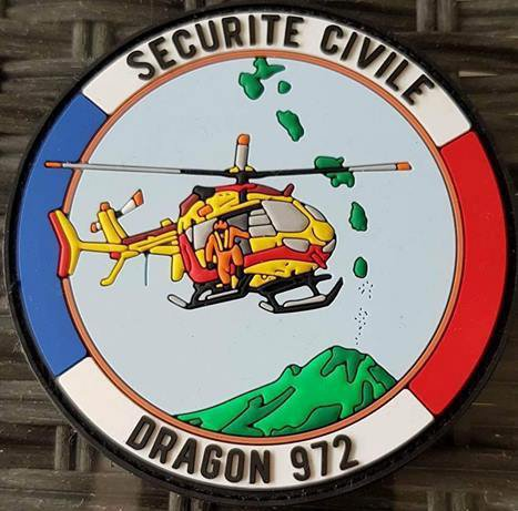 Dragon 972 base de la Martinique